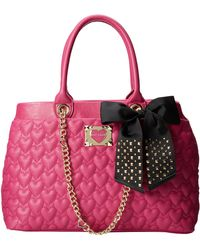 Betsey Johnson Be My Sweetheart Shopper - Lyst