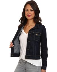True Religion Dusty Fitted Jacket in Picasso Blues - Lyst