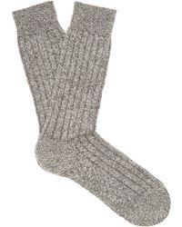 Pantherella Waddington Cashmere-blend Socks - Lyst