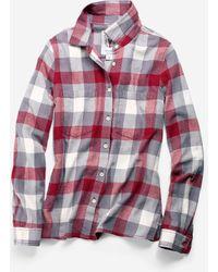 Cole Haan - Women's Pinch Long Sleeve Plaid Shirt - Lyst