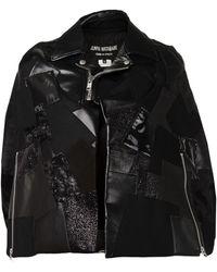 Junya Watanabe Mix Fabric Jacket - Lyst