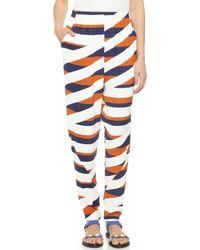 Kenzo Z Stripes Pants - Tobacco - Lyst