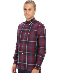 Fred Perry Large Mod Check Shirt - Lyst