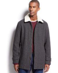 Inc International Concepts Colin Wool-Blend Coat - Lyst