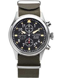 Jack Mason Brand - 'aviation' Chronograph Nato Strap Watch 42mm - Lyst