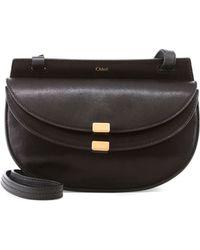 Chloé - Georgia Mini Leather Cross-Body Bag - Lyst
