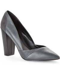 Charles By Charles David Grey Perla Pumps - Lyst
