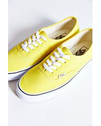 Vans Authentic Canvas Sneaker - Lyst