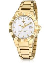 Maserati - Tridente Stainless Steel Women'S Watch - Lyst