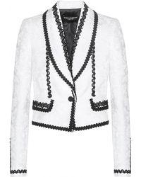 Dolce & Gabbana Brocade Jacket - Lyst