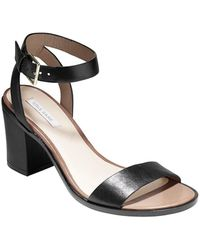 Cole Haan Cambon Leather Sandals black - Lyst
