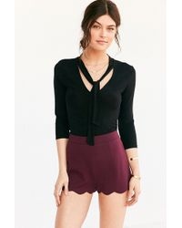 Cooperative - Pull-on Ponte Scallop Short - Lyst