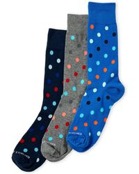 Unsimply Stitched - 3-pack Dotted Socks - Lyst