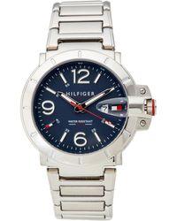 Tommy Hilfiger - 1791258 Silver-tone Turbo Watch - Lyst