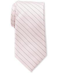 Calvin Klein - Rose Seed Stripe Silk Tie - Lyst