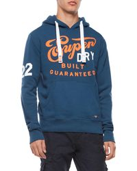 Superdry - Built Guaranteed Graphic Hoodie - Lyst