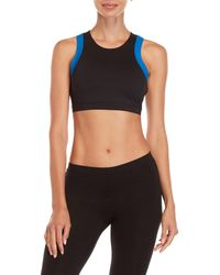 Juicy Couture - 2fer Halter Sports Bra - Lyst