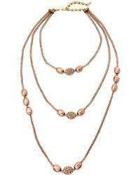 Heidi Daus - Long Beaded Mix Necklace - Lyst