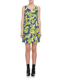 Love Moschino - Printed Shift Dress - Lyst