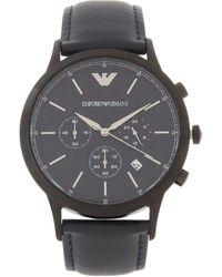 Emporio Armani - Ar2481 Black Watch - Lyst