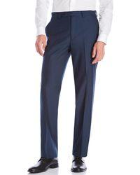 Calvin Klein - Herringbone Dress Pants - Lyst
