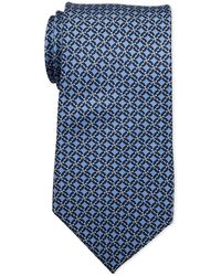 Pierre Cardin - Link Print Silk Tie - Lyst