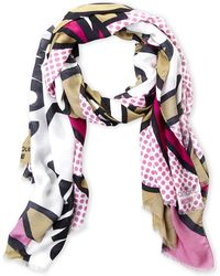 Boutique Moschino - Comic Boutique Scarf - Lyst