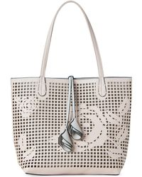 Imoshion - Laser Cut Rose Tote - Lyst
