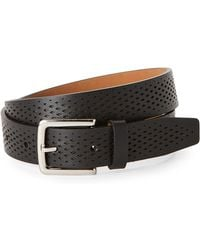Cole Haan - Washington Grand Laser Perforated Belt - Lyst