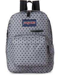 Jansport - Grey & Black Digibreak Backpack - Lyst