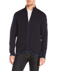 Benson - Zip-Up Wool Sweatshirt - Lyst