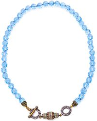 Heidi Daus - Beaded Toggle Necklace - Lyst