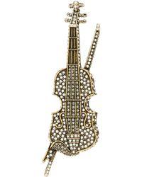 Heidi Daus - Violin Pin - Lyst