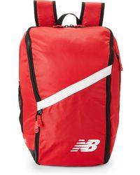 New Balance - Scarlet Team Ball Backpack - Lyst