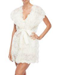 Rya Collection - White La Fleur Wrap Robe - Lyst