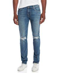 Joe's - Slim Fit Ripped Jeans - Lyst