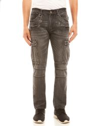 Xray Jeans - Faded Cargo Jeans - Lyst