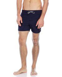 EFFEK - Drawstring Swim Shorts - Lyst