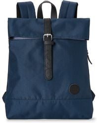 Enter # - Navy Top Fold Backpack - Lyst