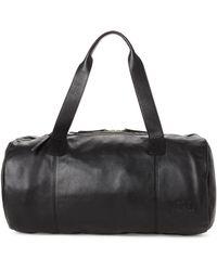 Herschel Supply Co. - Black Sutton Leather Duffel - Lyst