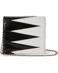 Inge Christopher - Black & White Karlie Graphic Crossbody - Lyst