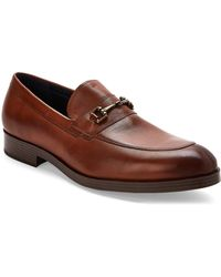 Cole Haan - Tan Henry Grand Bit Leather Loafers - Lyst