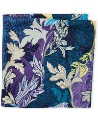 Laundry by Shelli Segal | Romantic Floral Print Silk Scarf | Lyst