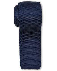 Burma Bibas - Solid Textured Knit Tie - Lyst