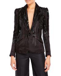 Pascal Millet - Sequin Embellished Blazer - Lyst