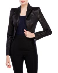 Boudicca - Silk-Blend Waistcoat Jacket - Lyst