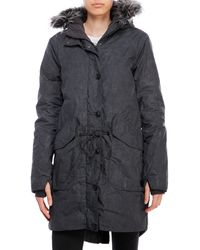 Bench - Bigtimer Hooded Parka With Faux Fur Trim - Lyst