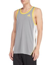 adidas - Tipped Active Tank - Lyst