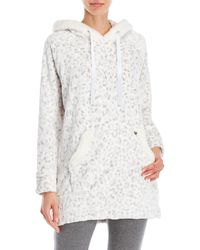 Juicy Couture - Printed Super Soft Plush Pullover - Lyst