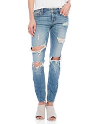 Eunina - Distressed Mica Jeans - Lyst